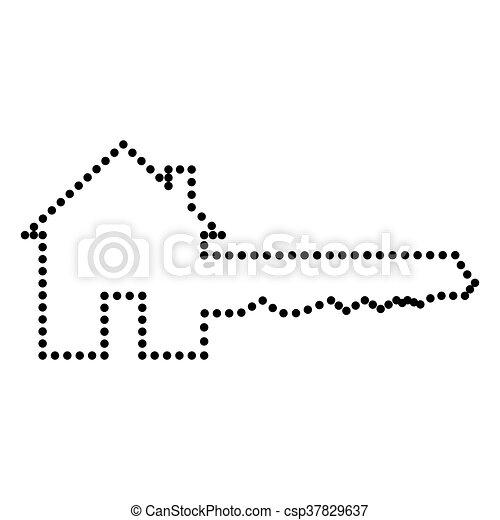 ホームキー, 印 - csp37829637