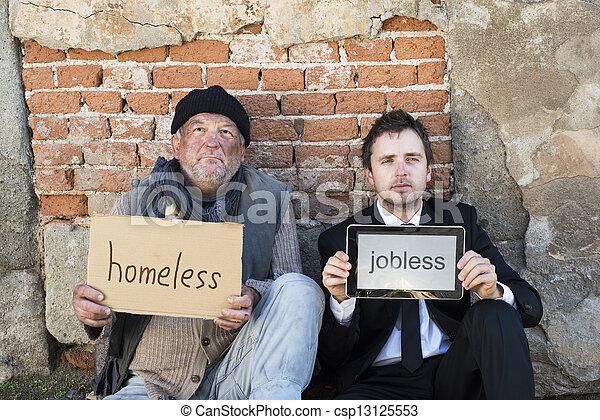 ホームレスである - csp13125553