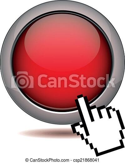 ボタン, クリック - csp21868041
