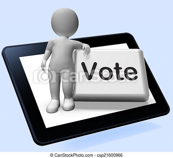 ボタン, 特徴, 選択, オプション, 投票, 投票, ∥あるいは∥, ショー - csp21600966