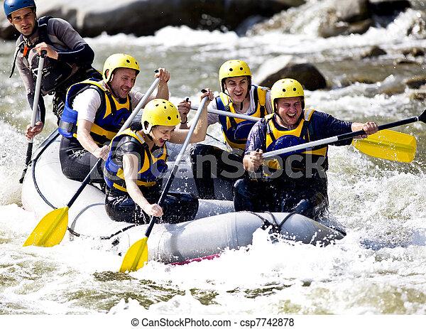 ボート競技, 川, グループ - csp7742878
