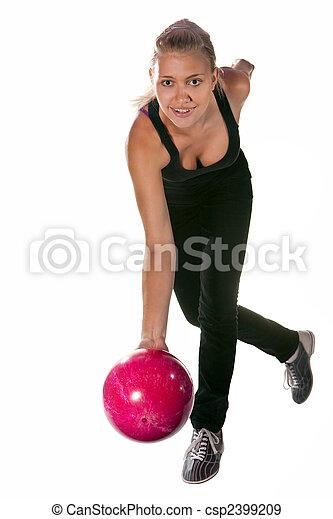 ボーリング競技者, かなり - csp2399209