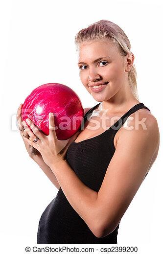 ボーリング競技者, かなり - csp2399200