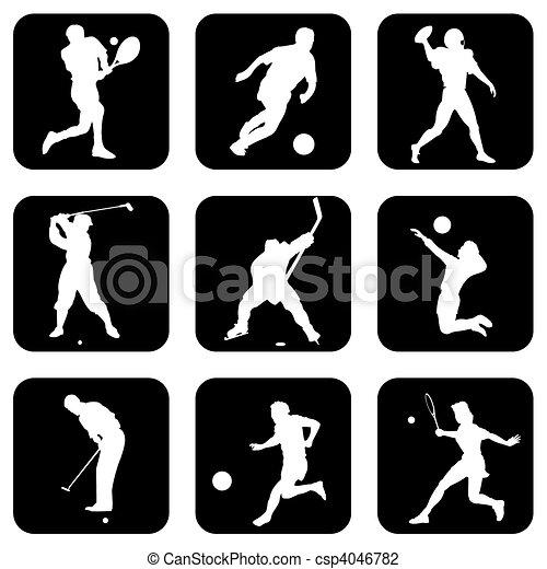 ボールスポーツ, アイコン - csp4046782
