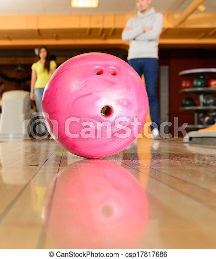 ボール, アリー, ボウリング - csp17817686