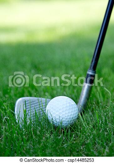 ボール, ゴルフ - csp14485253