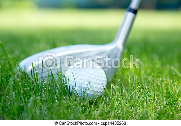 ボール, ゴルフ - csp14485263
