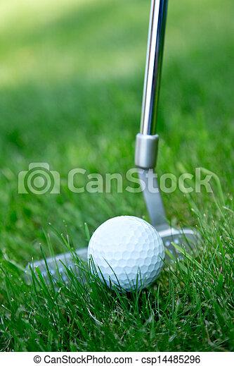 ボール, ゴルフ - csp14485296