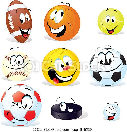 ボール, 漫画, スポーツ - csp19152391