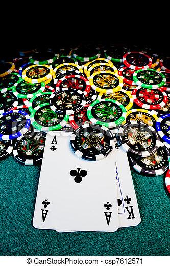 ポーカーチップ, ak - csp7612571