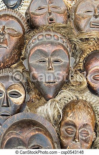 マスク, アフリカ - csp0543148