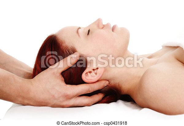 マッサージ 療法 - csp0431918