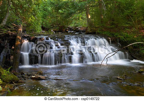 ミシガン州, 滝 - csp0149722