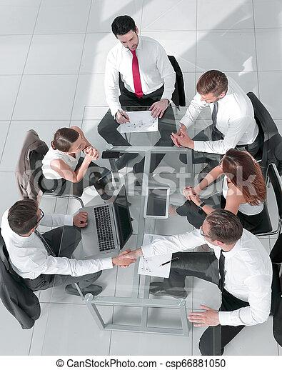 ミーティング, グループ, ビジネス 人々 - csp66881050