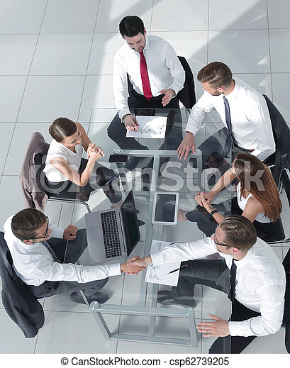 ミーティング, グループ, ビジネス 人々 - csp62739205