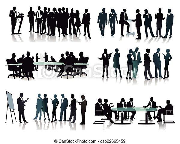 ミーティング, ビジネスグループ - csp22665459