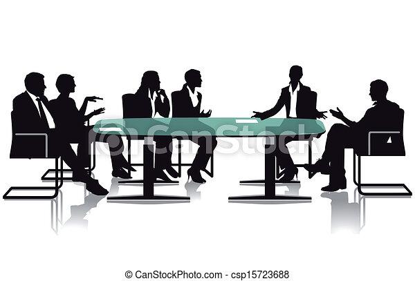 ミーティング, 討論 - csp15723688