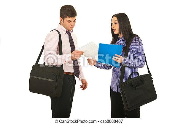 ミーティング, 2, ビジネス 人々 - csp8888487
