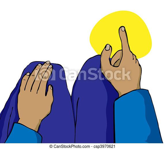 メッカ, ∥に向かって∥, とんびが指さす - csp3970621