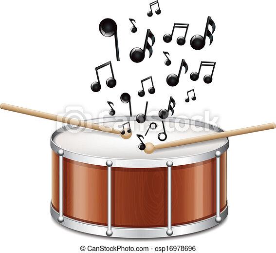 メロディー, ドラム - csp16978696