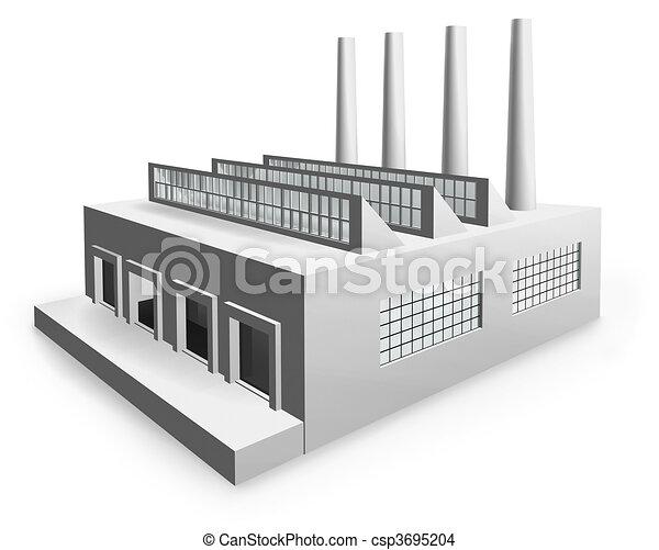 モデル, 工場 - csp3695204