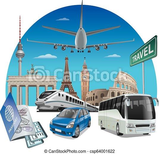 ヨーロッパ, 旅行 - csp64001622