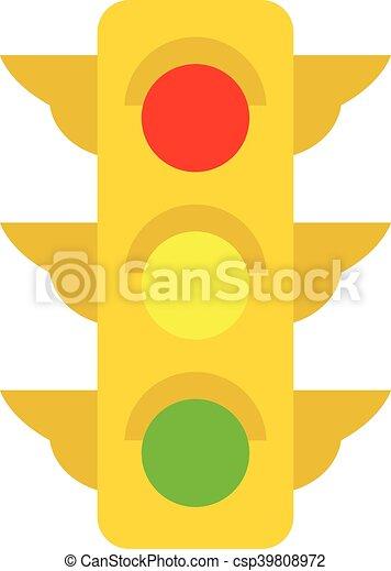 ライト, 交通 - csp39808972