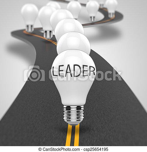 ライト, 概念, 電球 - csp25654195