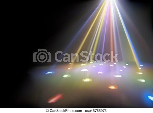 ライト, 背景, ディスコ - csp45768973
