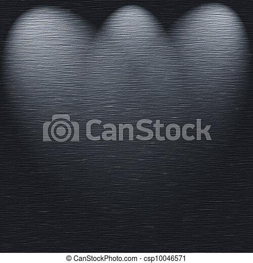 ライト, 金属, 手ざわり, 源, テンプレート, ブラシをかけられる - csp10046571