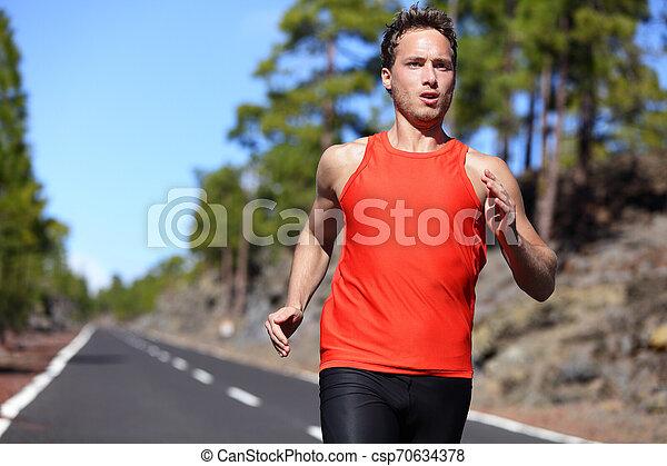 ランナー, 動くこと, スプリント, 速い, 人 - csp70634378