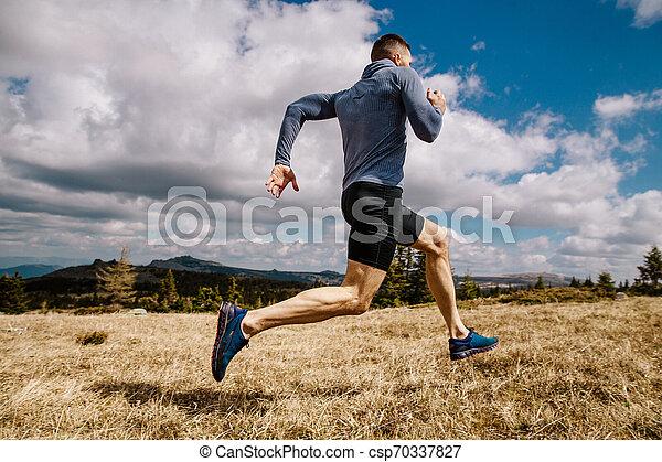 ランナー, 走っている男性, 速い - csp70337827