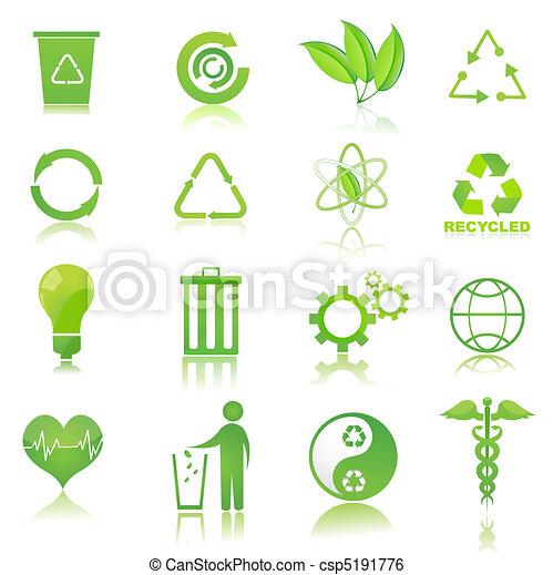 リサイクルしなさい, アイコン - csp5191776