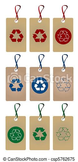 リサイクルしなさい, タグ - csp5762675