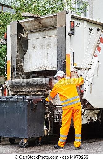 リサイクル, 無駄, ごみ - csp14970253