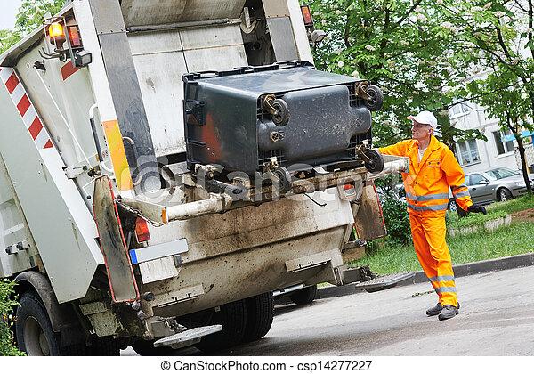 リサイクル, 無駄, ごみ - csp14277227