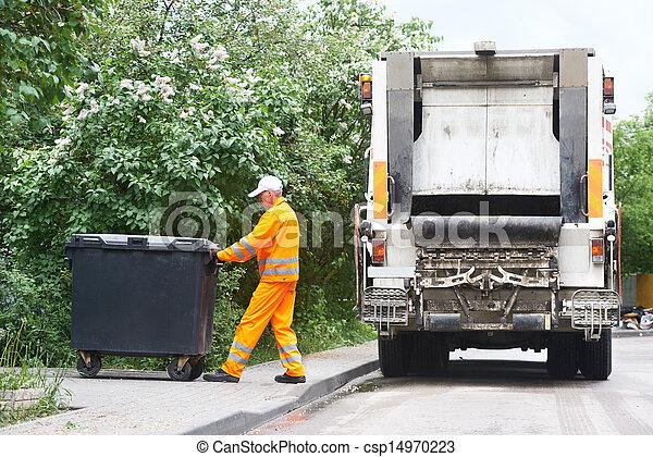 リサイクル, 無駄, ごみ - csp14970223