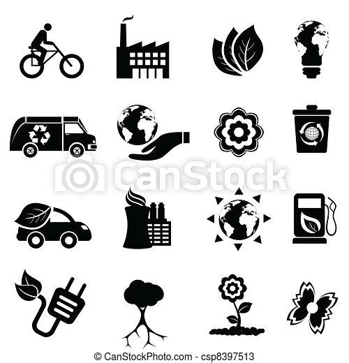 リサイクル, eco, エネルギー, きれいにしなさい - csp8397513