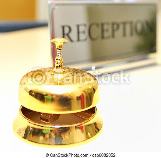 レセプション, ホテル - csp6082052