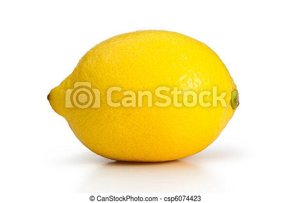 レモン, 黄色 - csp6074423