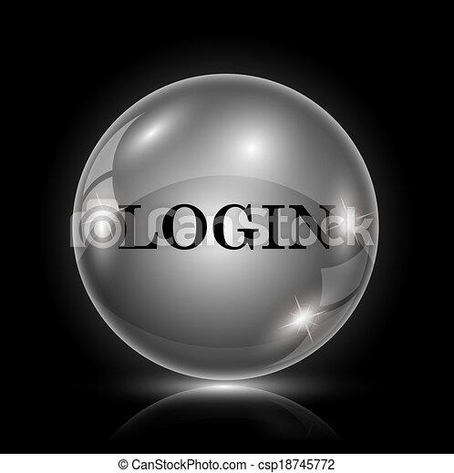 ログイン, アイコン - csp18745772