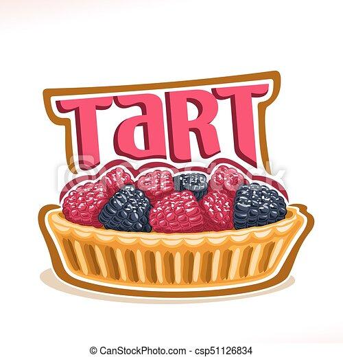 ロゴ ベクトル タルト デザート ミニ ロゴ ベリー 手製 タルト