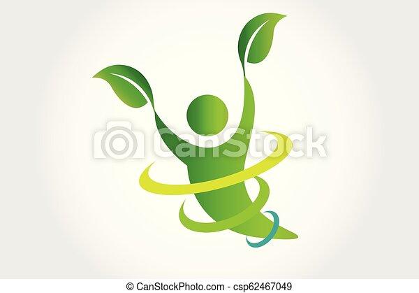 ロゴ, ベクトル, 健康, 自然 - csp62467049
