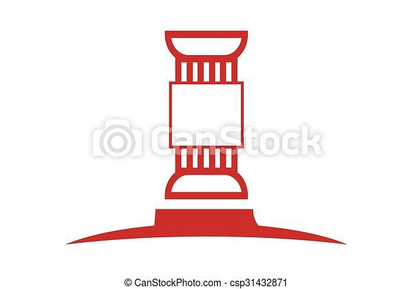 ロゴ, 法律 - csp31432871