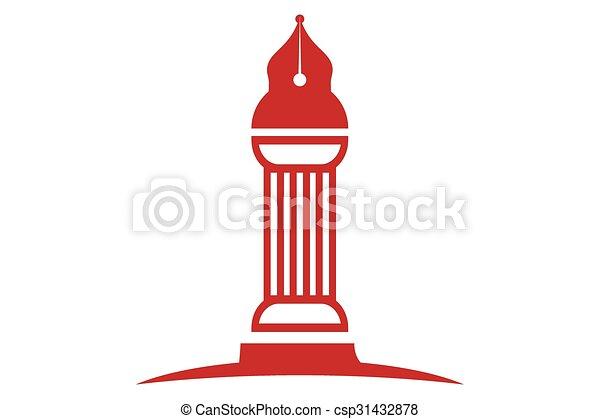 ロゴ, 法律 - csp31432878