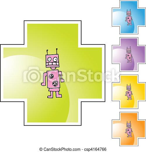 ロボット - csp4164766