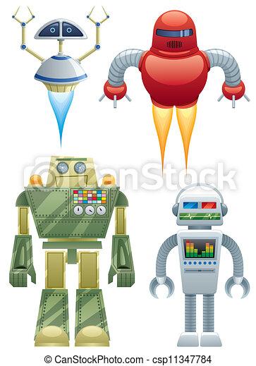 ロボット - csp11347784