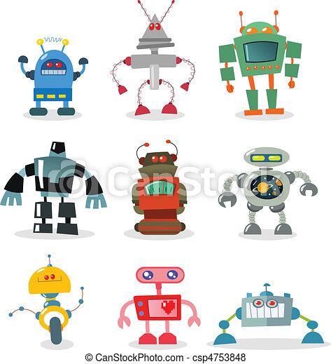 ロボット - csp4753848