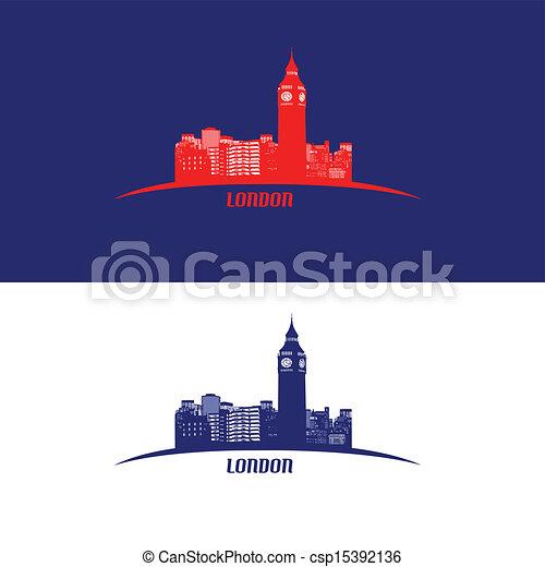 ロンドン, スカイライン - csp15392136