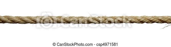 ロープ, 線 - csp4971581